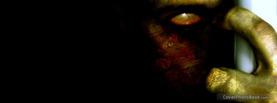 Human Alien Eyes Hand, Free Facebook Timeline Profile Cover, Strange