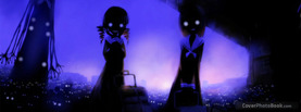 Schoolgirl Monster Eyes, Free Facebook Timeline Profile Cover, Strange