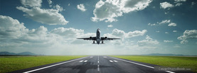 Airplane Runway, Free Facebook Timeline Profile Cover, Vehicles