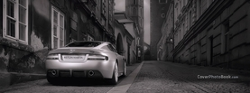 Aston Martin Black White Street, Free Facebook Timeline Profile Cover, Vehicles