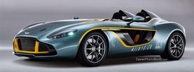 Aston Martin CC100 Concept, Free Facebook Timeline Profile Cover, Vehicles