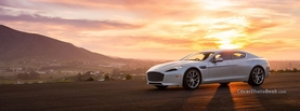 Aston Martin Rapide Sunset, Free Facebook Timeline Profile Cover, Vehicles