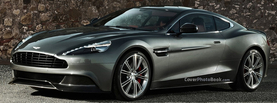 Aston Martin Vanquish Charcoal, Free Facebook Timeline Profile Cover, Vehicles