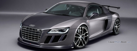 Audi R8 GT Grey, Free Facebook Timeline Profile Cover, Vehicles