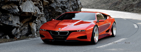 BMW M8 Concept Car, Free Facebook Timeline Profile Cover, Vehicles