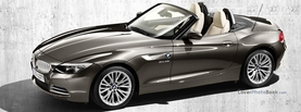 BMW Z4 Grey, Free Facebook Timeline Profile Cover, Vehicles