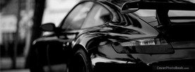 Black Car Rear, Free Facebook Timeline Profile Cover, Vehicles