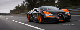Bugatti Veyron Vitesse Black Orange, Free Facebook Timeline Profile Cover, Vehicles