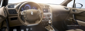 Citroen DS4 Brown Interior, Free Facebook Timeline Profile Cover, Vehicles