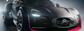 Citroen Survolt Concept Black Pink, Free Facebook Timeline Profile Cover, Vehicles