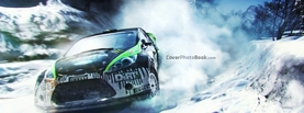 Dirt 3 Snow Drift, Free Facebook Timeline Profile Cover, Vehicles