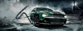 Ford Mustang Green, Free Facebook Timeline Profile Cover, Vehicles