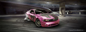 Ford Mustang Pink, Free Facebook Timeline Profile Cover, Vehicles