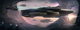 Future Alien Air Ships, Free Facebook Timeline Profile Cover, Vehicles