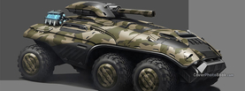 Future Tank Army Camo Green, Free Facebook Timeline Profile Cover, Vehicles