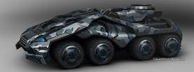Future War Tank Concept, Free Facebook Timeline Profile Cover, Vehicles
