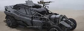 Future War Tank Illustration, Free Facebook Timeline Profile Cover, Vehicles