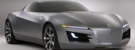Grey Sport Car, Free Facebook Timeline Profile Cover, Vehicles