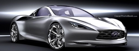 Infinity Emerg E Silver Concept, Free Facebook Timeline Profile Cover, Vehicles