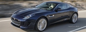 Jaguar F Type Black Speeding, Free Facebook Timeline Profile Cover, Vehicles