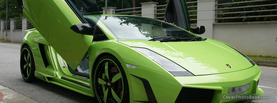 Lamborghini Gallardo Green, Free Facebook Timeline Profile Cover, Vehicles