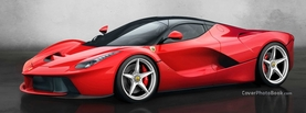 LeFerrari Red, Free Facebook Timeline Profile Cover, Vehicles