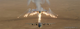 Lockheed AC 130 Gunship Flares, Free Facebook Timeline Profile Cover, Vehicles