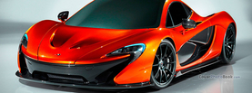 McLaren P1 Red, Free Facebook Timeline Profile Cover, Vehicles