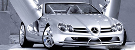 Mercedes Benz SLR, Free Facebook Timeline Profile Cover, Vehicles