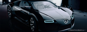 Mercedes Benz SLS Concept, Free Facebook Timeline Profile Cover, Vehicles
