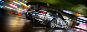 Nissan Silvia S15 D1 Drift Spin, Free Facebook Timeline Profile Cover, Vehicles