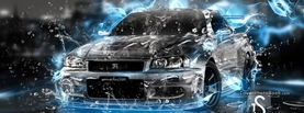 Nissan Skyline Water Effects, Free Facebook Timeline Profile Cover, Vehicles