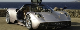 Pagani Huayra Silver, Free Facebook Timeline Profile Cover, Vehicles