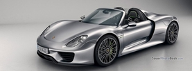 Porsche 918 Spyder Silver, Free Facebook Timeline Profile Cover, Vehicles