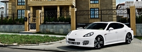 Porsche Panamera Beautiful House, Free Facebook Timeline Profile Cover, Vehicles