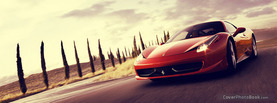 Red Ferrari, Free Facebook Timeline Profile Cover, Vehicles