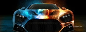 Water and Fire Car Design, Free Facebook Timeline Profile Cover, Vehicles