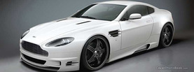 White Aston Martin, Free Facebook Timeline Profile Cover, Vehicles