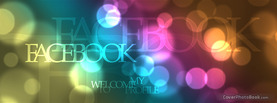 Digital Bokeh, Free Facebook Timeline Profile Cover, Welcome