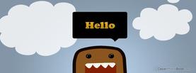 Domo kun, Free Facebook Timeline Profile Cover, Welcome