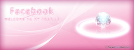 Pink Halo, Free Facebook Timeline Profile Cover, Welcome