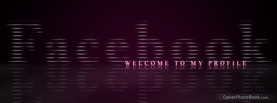 Scanlines, Free Facebook Timeline Profile Cover, Welcome