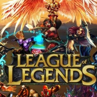 League of Legends Characters Crowd Facebook Cover - Brands