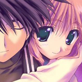 Anime love couple hug facebook cover characters - Anime hug pics ...