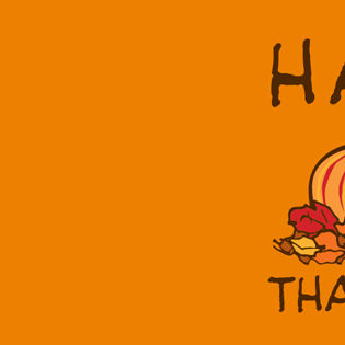 Happy Thanksgiving Peanuts Snoopy Cartoon Facebook Cover - Holidays