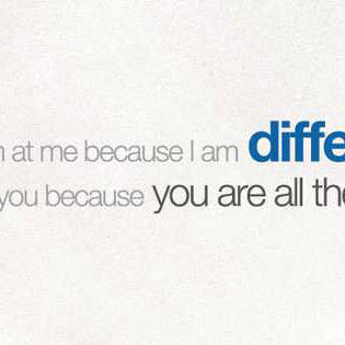 I Am Different Facebook Cover Quotes
