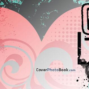 Retro love facebook covers