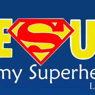 jesus is my superhero luke 1910 facebook cover religion