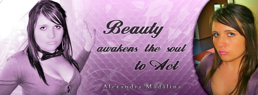 Facebook Cover Photo Design for Alexandra Madalina