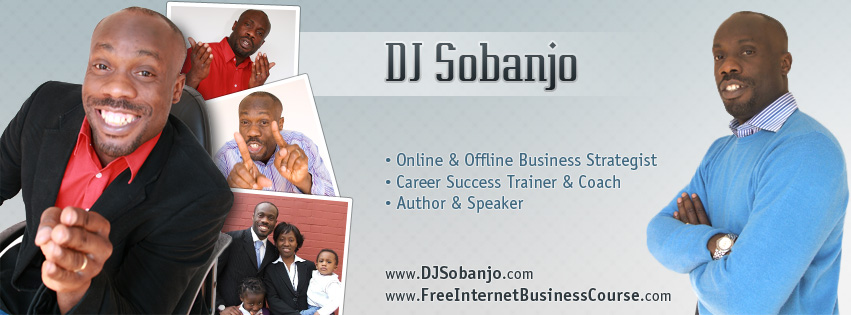 Facebook Cover Photo Design for DJ Sobanjo